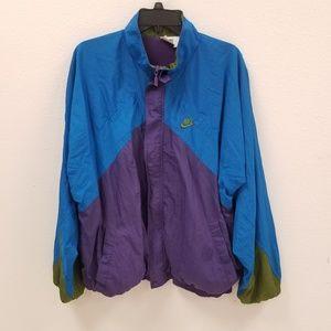 Vintage 90s Nike color block windbreaker